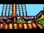 Donkey Kong Country (GBC) - Gang-Plank Galleon