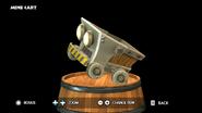 DKCTF Mine Cart Figurine