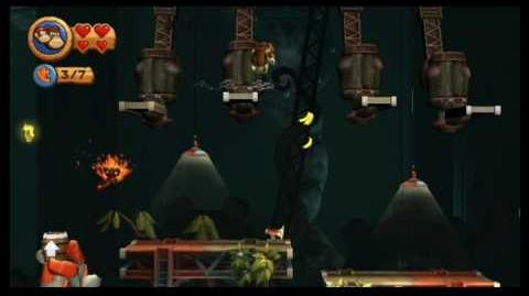 Donkey Kong Country Returns 100% (7-3 Handy Hazards)
