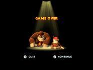 DKC Returns Game Over