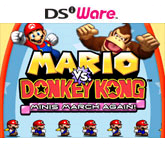 Mario vs Donkey Kong Minis March Again Cover Art