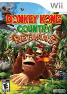 Donkey Kong Country Returns - NA Boxart