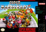 Super Mario Kart NA Cover