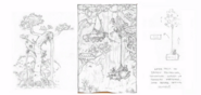 Boceto del manglar remoto 2