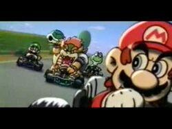Super Mario Kart Japan Tv Commercial.