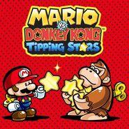 Mario vs Donkey Kong Tipping Stars Europe Cover Art