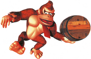 Donkey kong barril