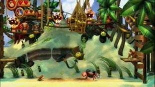 Donkey Kong Country Returns - Piratas Pinzones