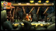 Donkey Kong Country Returns 100% (4-1 Rickety Rails)