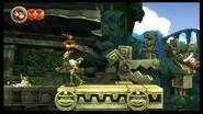 Donkey Kong Country Returns 100% (3-1 Wonkey Waterway)