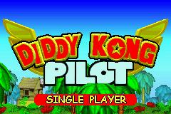 Diddy Kong Pilot 2003 pantalla de titulo.png