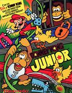 Donkey Kong Jr Arcade Flyer