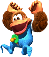 Kiddy Kong - Donkey Kong Country 3 - Artwork 1.png