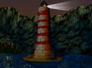 Gloomy Galleon lighthouse area