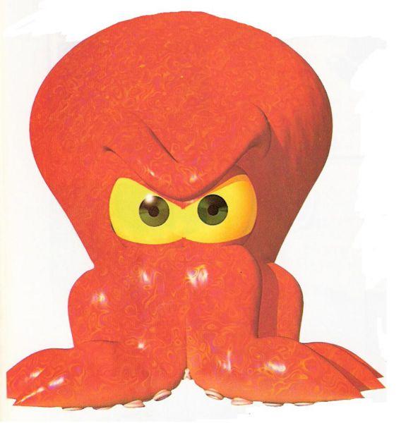 Bubbler the Octopus