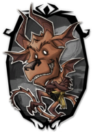 Wortox Draconic Portrait