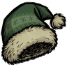 Forest Guardian Green Festive Stocking Cap Icon