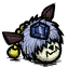 Magnificent Adornment Gem Deer Blue
