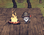 Firepit obsidian