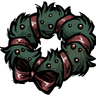 Ribbon Wreath Icon
