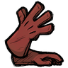 Red Gem Red Long Gloves Icon