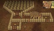 Gobbler chicken farm with powdercake