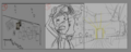 RWP 229 Storyboarding the first frames from Winona's short film