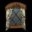 Tall Curtain Window