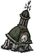 Dilapidated Clocktower