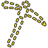 Pantomimed Opulent Pickaxe Icon
