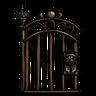 Antique Bronze Gate Icon