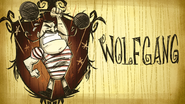 Wolfgang Don't Starve Steam Card Expanded