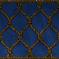 Rope wall panneling texture