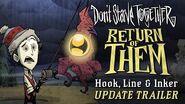Don't Starve Together Return of Them - Hook, Line & Inker Update Trailer