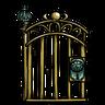 Antique Brass Gate Icon