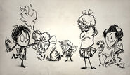 Critters Drawing