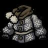 Snowy Winter Coat Icon