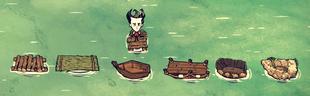 Shipwrecked Boats