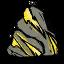 Gold Vein Boulder Icon