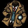 Crime Solving Overcoat Icon