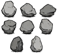 Cave-in Boulder Variants