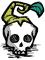 Wormwood skull