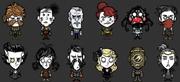 Skin, todos los personajes DST