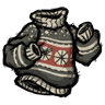 Ugly Grey Winter Sweater Icon