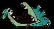 Dead Blue Crocodog
