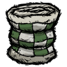 Forest Guardian Green Patchwork Quilt Icon