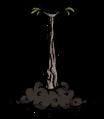 Árbol de palitos brote