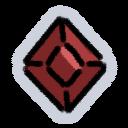 Red Gem emoji from official Klei Discord server