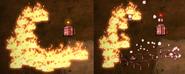 Flingomatic emergency response