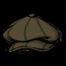 Paperboy Cap Hat Icon